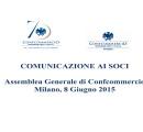 Assemblea Generale della Confcommercio