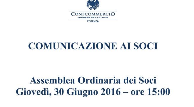 Comunicazione ai Soci